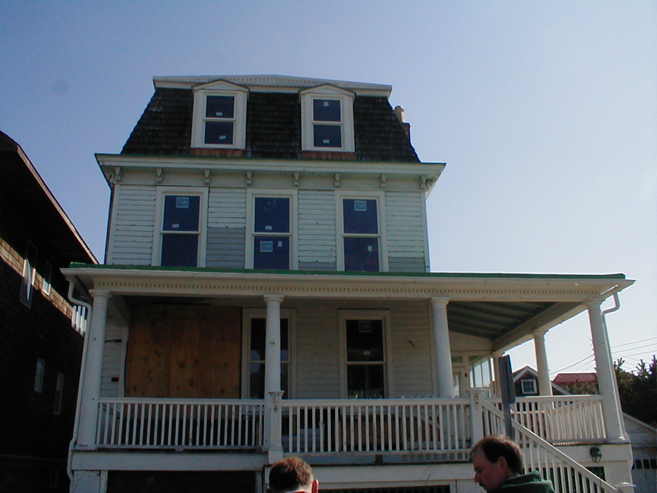 Cape May Victorian with New Wood Windows and Siding Replacement.