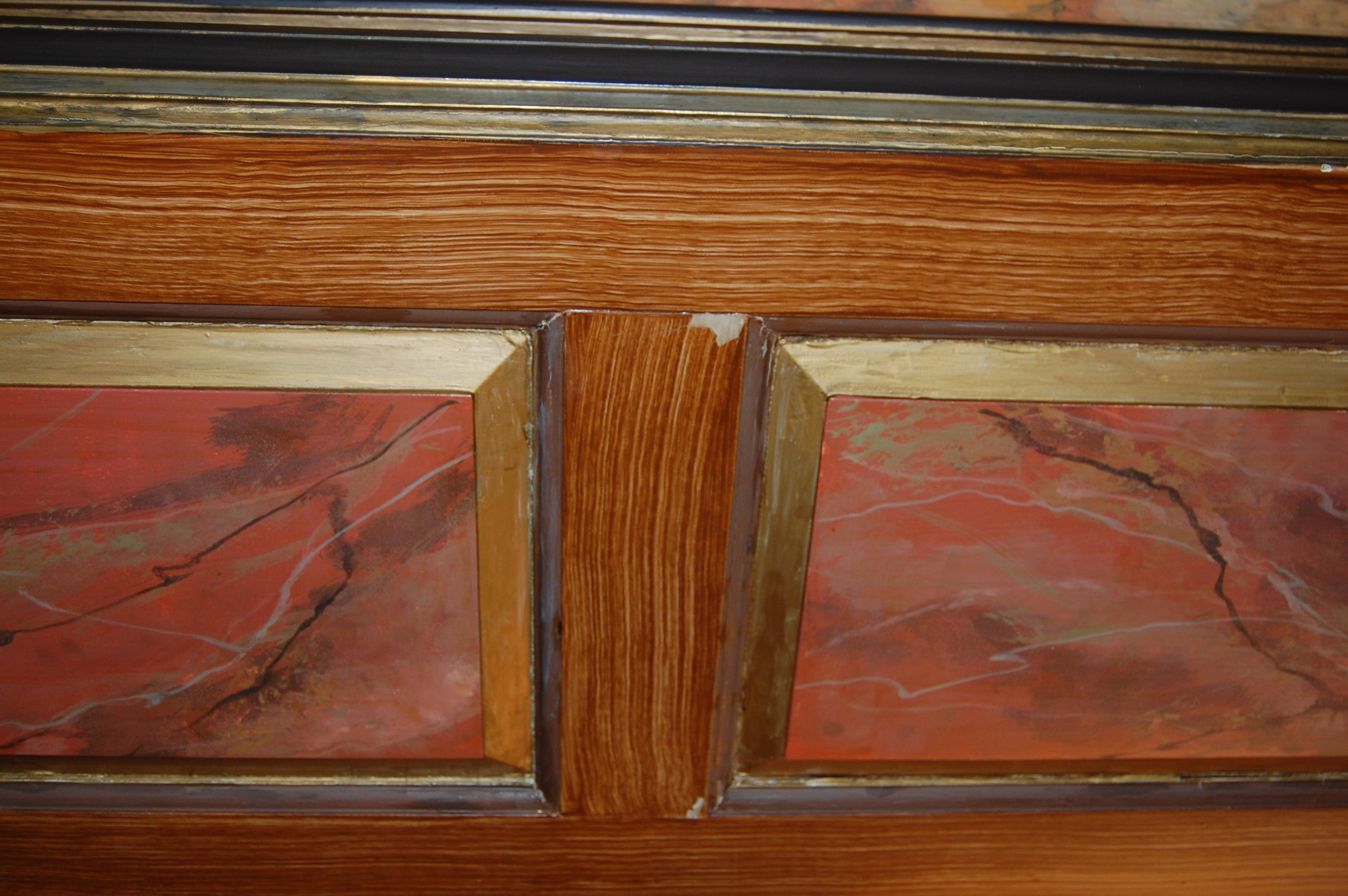 Water Damage to Faux Finishes