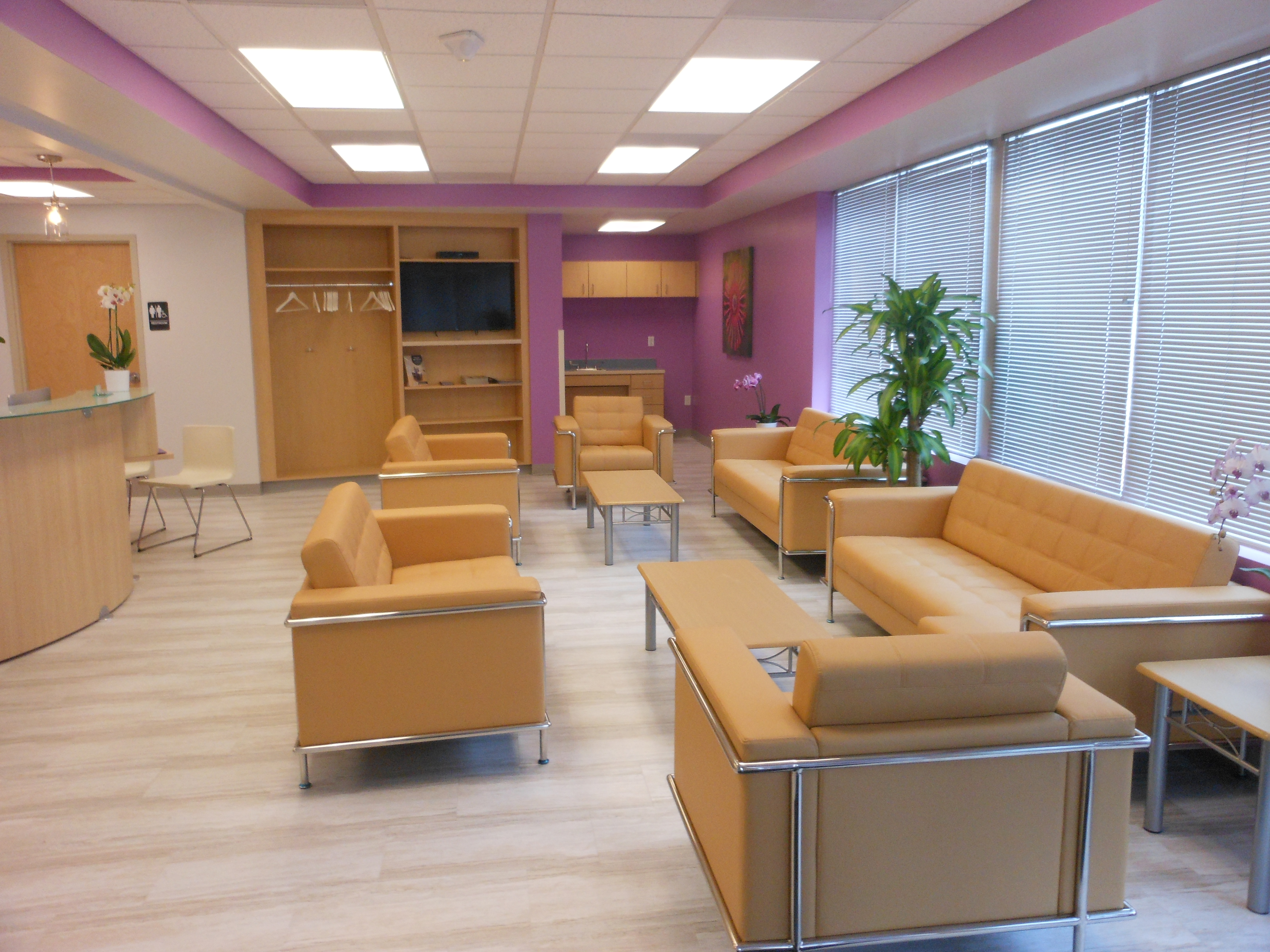 Medical Office Seating Area